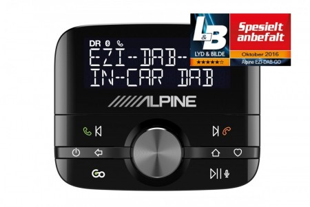 Alpine EZi-DAB-GO DAB+ Adapter BT Stream